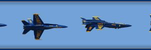 2011 Blue Angels 11 by Dracoart
