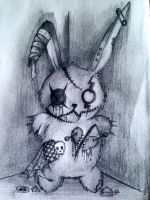 Zombie Bunny by anatomily