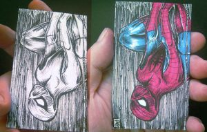 spiderman sketch card vol.02 by rehAlone