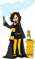 Hufflepuff thing for contest by SaladxBar
