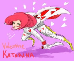 Valentine Katarina by KindCoffee