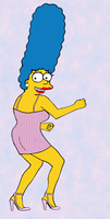 Marge a Go Go by paulibus2001