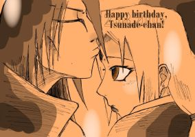 v+HappyBirthdayTsunadeChan by vanitachi