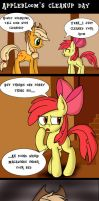 Applebloom's Cleanup Day by MrFulp