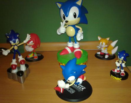 Sonic figures Collection by Yuluga