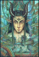 Artificial Demon colored by Marsuministeri