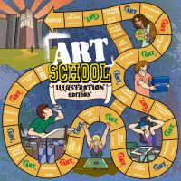 Art School The Game by umetnica