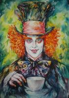 Mad  Hatter by MarinaCardoso