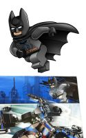 Lego BATMAN new package art by RobKing21