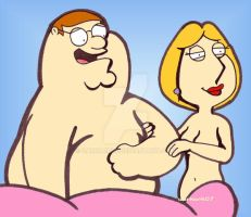Lois and Peter Griffin by DarkArk07