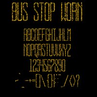 BUS STOP WORN by jbensch