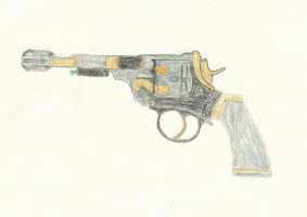 DR. WHO sonic screwdriver revolver request by Dr-Morgan47