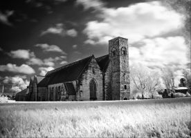 St Peters 674 - IR - BW by Wayman