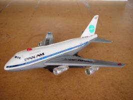 Toy Panam Airplane 1 by rick--hunter