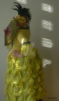 Pineapple gown - Ananas b by rum-inspector