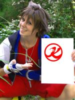 Sora loves Kanpai Cosplay by Evil-Uke-Sora