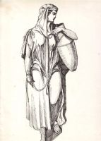 a woman from Samaria by Sedeslav