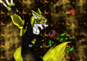 Smash the Lavaworms by Zuelo-B-Riddick