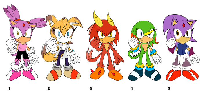 Sonic: Free adopts pack 2 [CLOSED] by AutoTFNT979