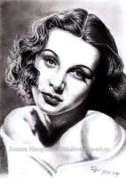 Hedy Lamarr by Lillian-Bann