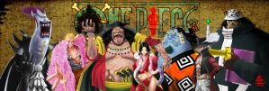 One piece Shichibukai by Veus-T