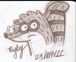 . Rigby . by Caleighrg