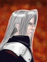 Sephiroth - Angel Punishment by soulofsorrow