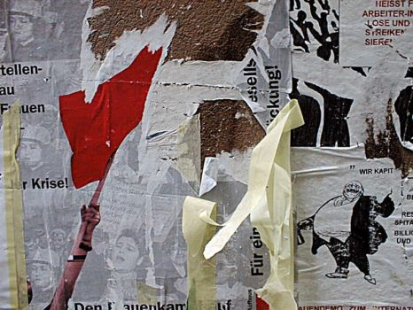 torn Poster Zurich by jeanedvard