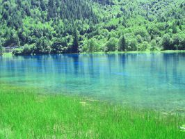 Cerulean Lake by XiaoFen