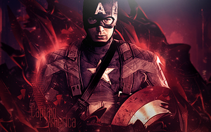 Captain America by Pur3-Designs