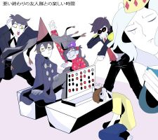 Bad end friends fun times with squad memes by DarkCatz
