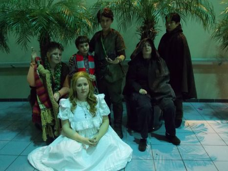 Wendy and the Lost Boys by crinoline-gremlin