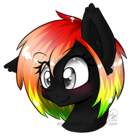 Speccy bust by DragonGirl983