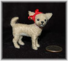 Chihuahua Needle Felted by noe6