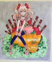 Pumpkin Witch by Kimiko1999