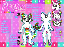 Prism Ref Sheet V1 by marshmallowtwirl