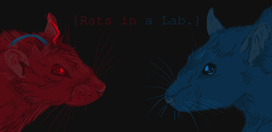 rats in a lab header by mechanicalmasochist