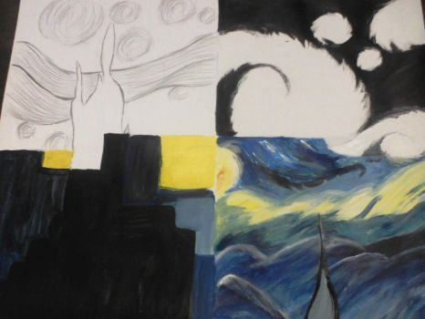 Starry Night Project by WendePatrella
