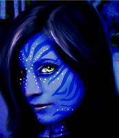 Blue. by Aira90