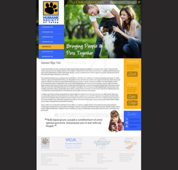 Tulsa Humane Society - Site idea by Mythrith