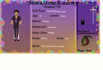 MSA Student application, Qualeh by Corcon