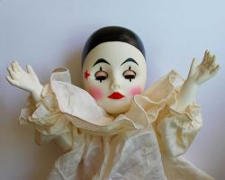 Clown Doll Stock 1 by chamberstock