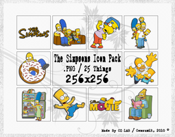 The Simpsons Icons Pack by conzumir