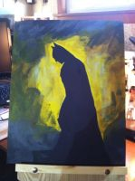 Batman Silhouette by JoeMedeiros