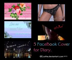 5 FaceBook covers for diary by Ecathe