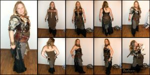 Barbarian outfit 01 by poisonmilow