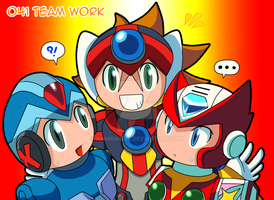041 - Teamwork by Kamira-Exe