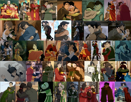 LOK Hugs Collage, Books 3-4 by JackieStarSister