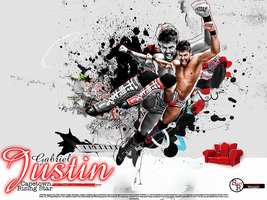 Justin Gabriel Wallpaper by SoulRiderGFX