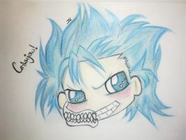 Grimmjow Chibi by Animefreakmania